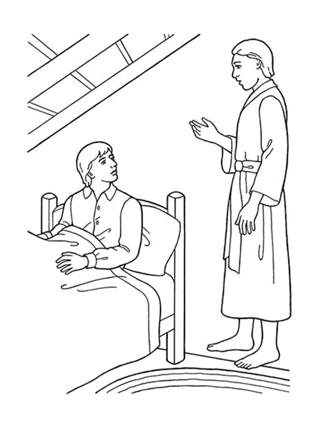 coloring pages angel moroni 9th article of faith revelation