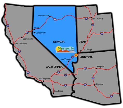 mesquite housing location map city of mesquite nevada