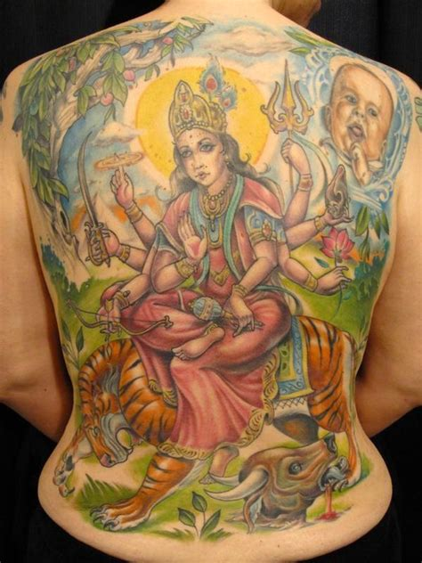 tattoo mata 17 hinduism tattoo images designs and pictures