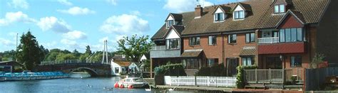 Self Catering Cottages Norfolk Broads by Riverside Cottages In Wroxham Norfolk Broads