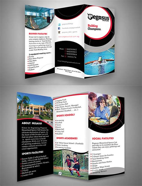 desain brosur cdr terbaru contoh desain brosur lipat tiga desain dan percetakan
