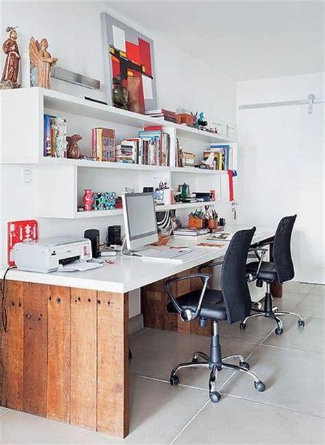 home office design für zwei personen 80 modelos de estantes como fazer fotos dicas