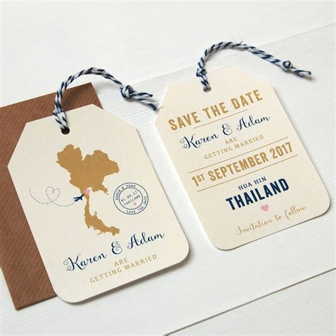 location wedding abroad save the date luggage tag destination weddings destinations and