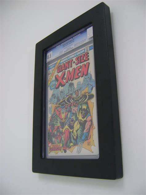 comic book picture frame how to effectively display slabbed comic books the comic