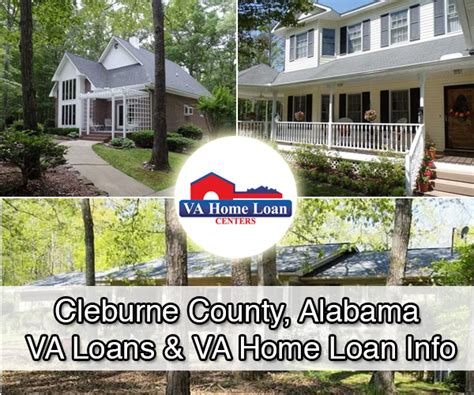cleburne county alabama va real estate information