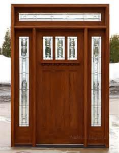 Craftsman Exterior Door Craftsman Entry Door With Transom