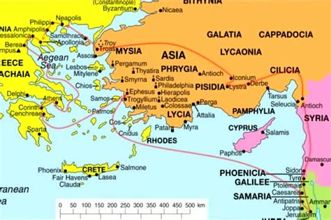 The Book Of Paul charts romans thru philemon