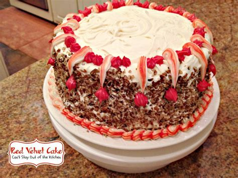 Red Cake Decoration by Red Velvet Cake Can T Stay Out Of The Kitchen
