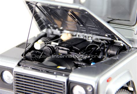 land rover defender engine 1 18 land rover defender 110 launched by century dragon