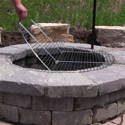 grate for outdoor pits foldable chrome plated outdoor pit cooking