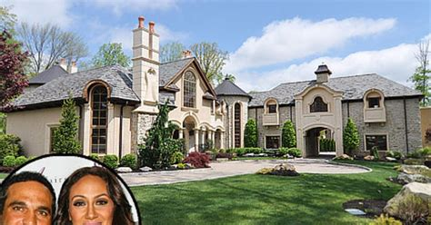 melissa gorga house melissa and joe gorga list new jersey mansion for 3 8 million us weekly