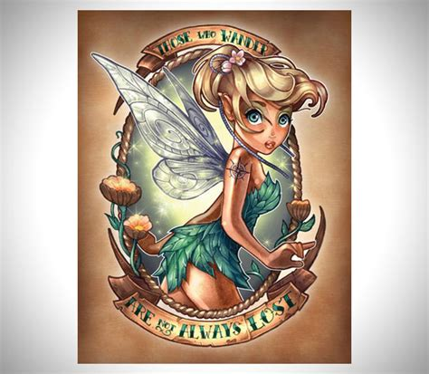 style pantry disney princesses as tattooed pinup