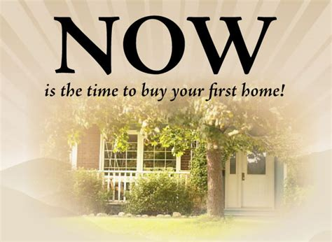 time home buyer
