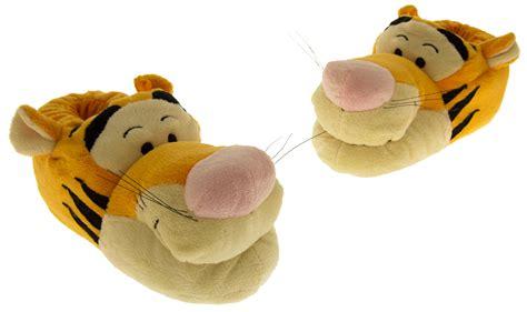 tigger slippers boys disney novelty slippers tigger winnie the pooh