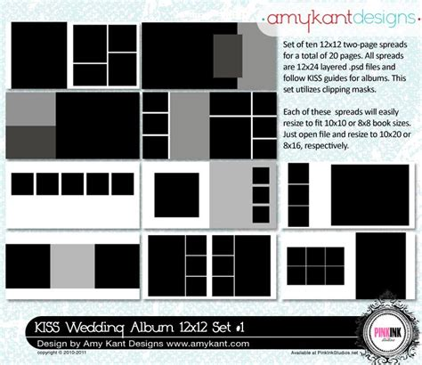 Album Templates Photography Tips Pinterest Lightroom Wedding Album Templates