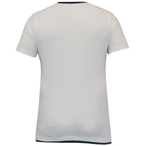 Moc Plain Sleeved Shirt Biru mens t shirt brave soul sleeved top v neck plain