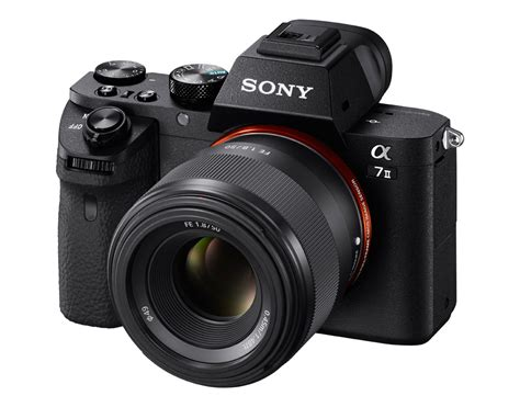 on look at the newly announced sony fe 50mm f 1 8