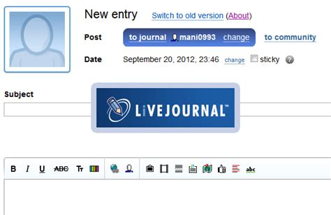 generator layout livejournal livejournal update brings a new editor page scrapbook