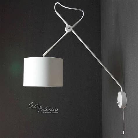 edle schirm wandlampe quadratisch mit kipp schalter ashino
