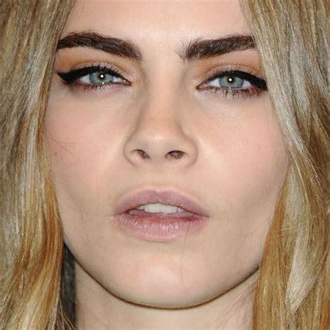 cara delevingne pink lipstick cara delevingne makeup black eyeshadow orange eyeshadow