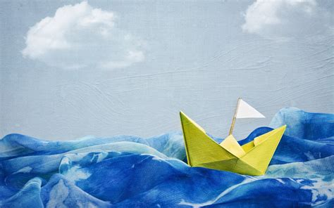 boat drawing sea boat of paper in the sea drawing wallpapers and images