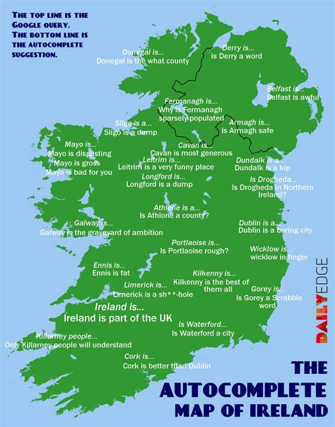 county cork ireland map the autocomplete map of ireland 183 the daily edge
