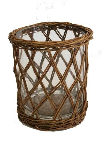 Willow Vase by Park Hill Collection Large Willow Wrapped Vase From South