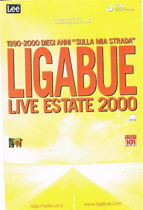 bar mario testo tour 2000 luciano ligabue fanclub