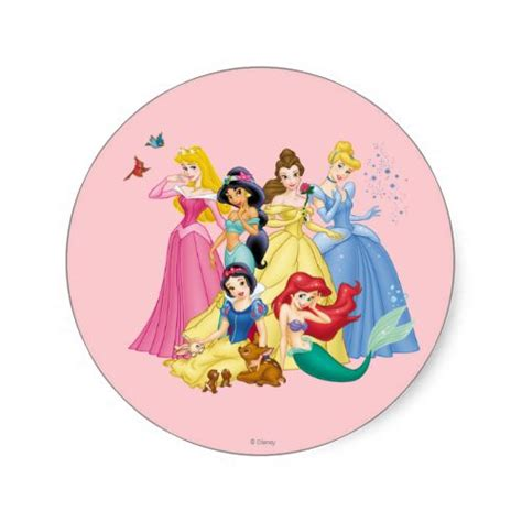 Gamis Rapunzel No 5 5 6th disney princesses 3 sticker disney princess