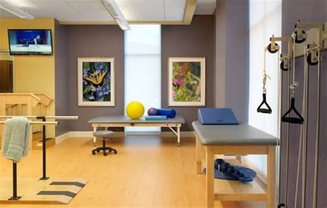 image result  physical therapy office decor