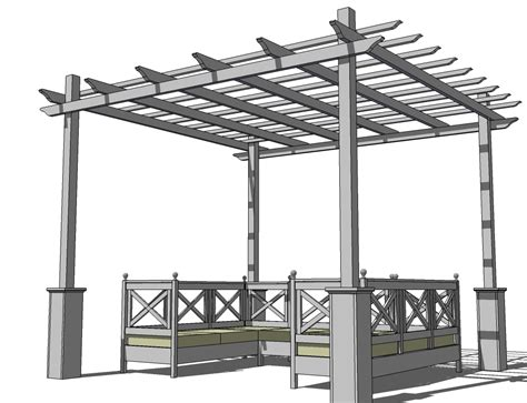 plans to build easy diy pergola plans pdf plans