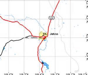 st johns arizona az 85936 profile population maps