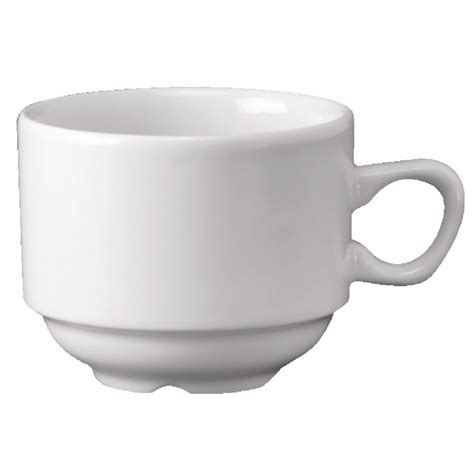 7 Techniques For The Cup Of Tea by Churchill Vitrified P271 Vit Plain Whiteware