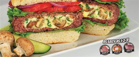 Stufz Americas Stuffed Burger stufz america s stuffed burger