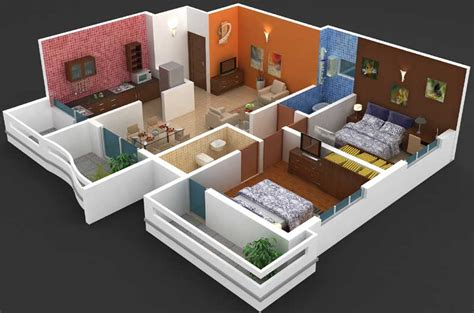 Home Interior Design For 2bhk Flat | 28 2 bhk flat design your life your space gini