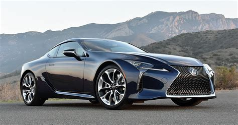 lexus dark blue the spousal report 2018 lexus lc review ny daily news