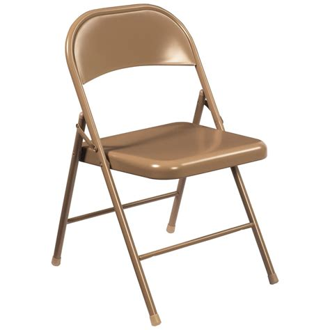 metal folding chairs national seating commercialine steel folding chair