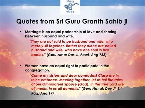 Wedding Quotes Guru Granth Sahib by The Gallery For Gt Guru Granth Sahib Ji Quotes In