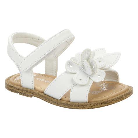 white infant sandals wonderkids baby sandal white