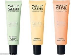 Nabi All In One Concealer Yellow make up artists shows how green orange and purple