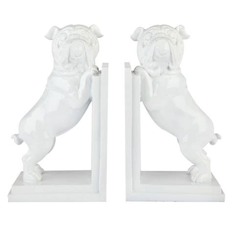 pug book ends pug bookends by kenneth cole new york home at house of fraser house of fraser autumn