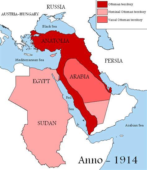 Empire Ottomans by 5 Grandes Mudan 231 As Na Europa A Primeira Guerra Mundial