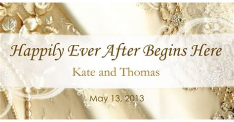large wedding banner wedding banner ideas wedding banners