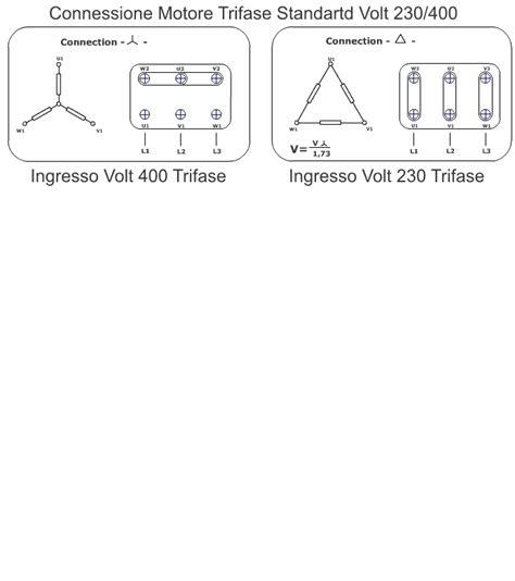 condensatore per motore trifase alimentato monofase il meglio di potere collegamento motore elettrico trifase