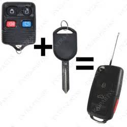 new ford car key new replacement remote fob flip ignition car chip