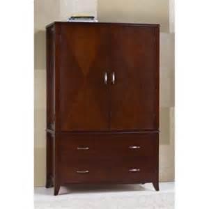 modus brighton tv wardrobe armoire in cinnamon walmart