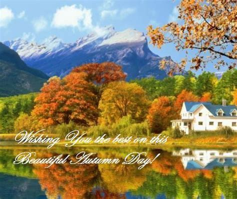 Autumn Wishes. Free Happy Autumn eCards, Greeting Cards