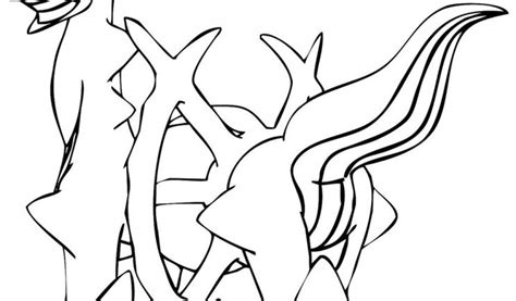 pokemon coloring pages arceus all legendary pokemon coloring pages coloring home