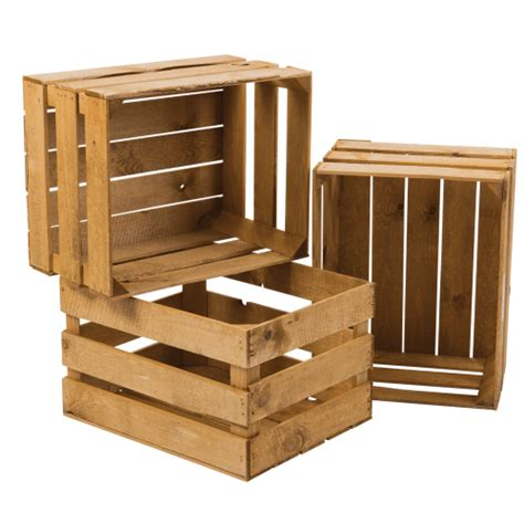 Wooden Crate by Wooden Display Crate