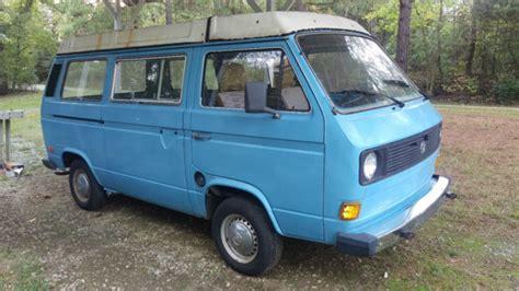 volkswagen vanagon blue 1981 vanagon blue used volkswagen vanagon